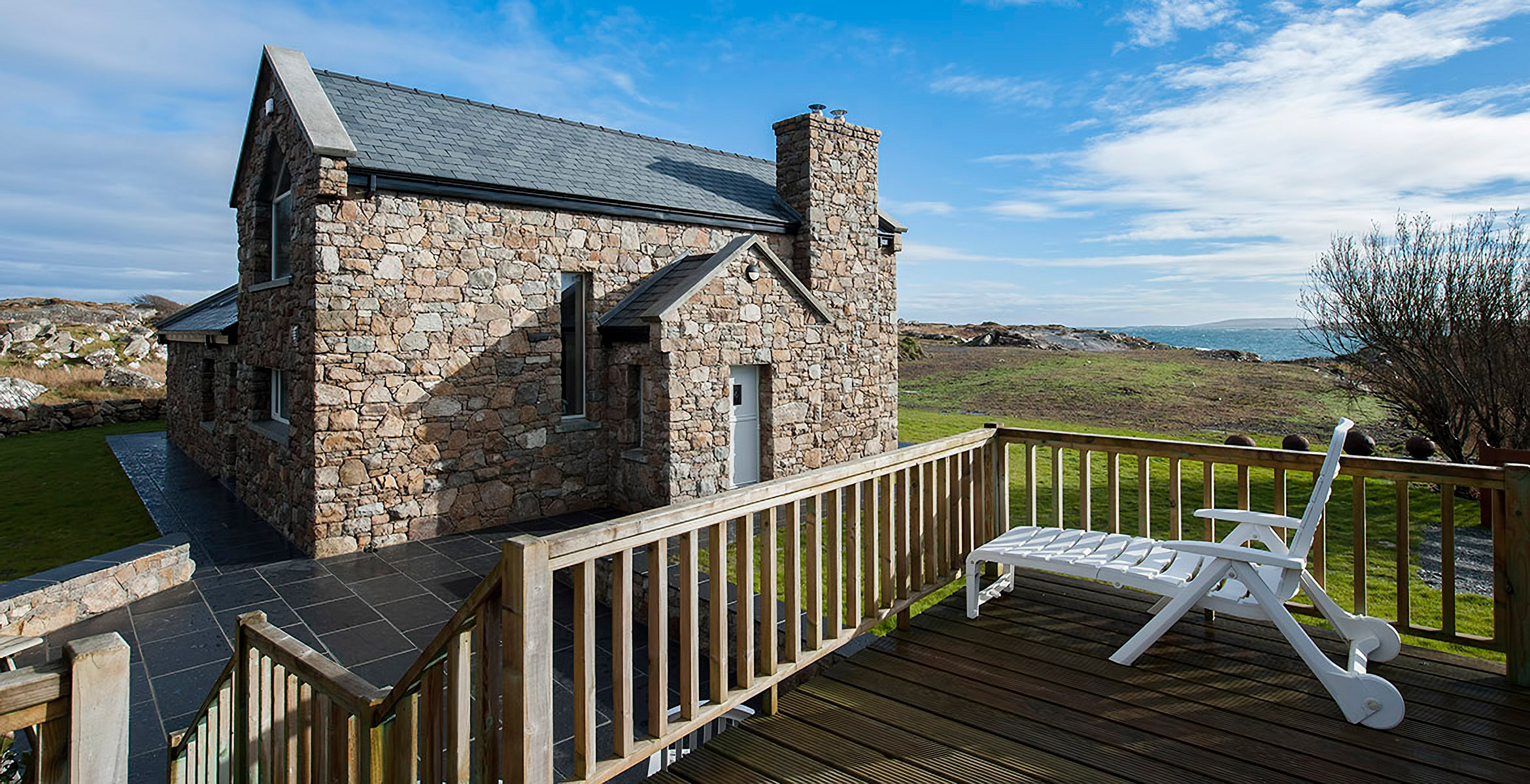 Luxury Cottage for rental in roundstone galway